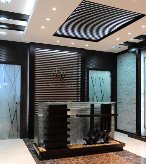 Wall and ceiling panels Quertec wenge + clear LxResin